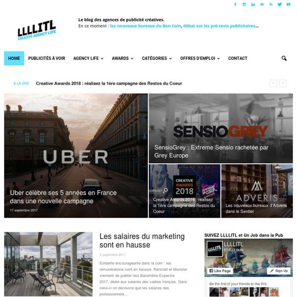 LLLLITL - Le blog des publicités et des opérations marketing les plus créatives.