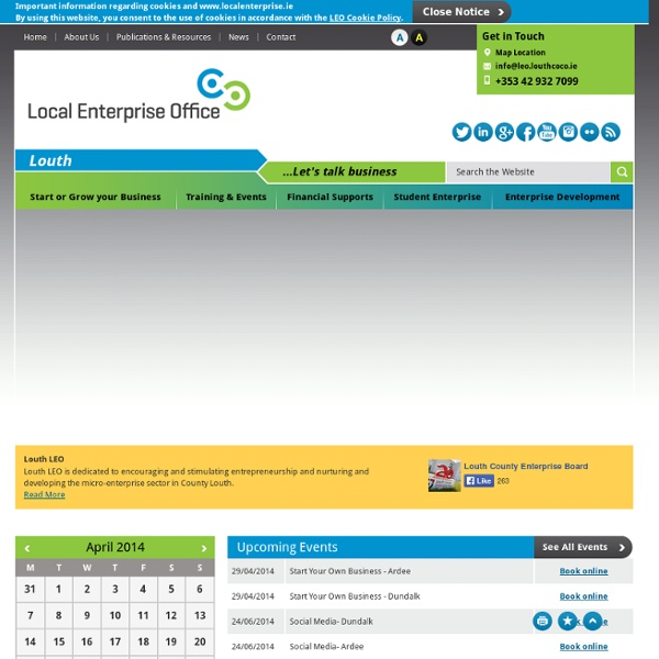 Louth County Enterprise Board - Supporting Small to Medium Sized Businesses