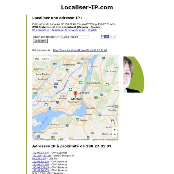 Localiser une adresse IP - www.localiser-IP.com