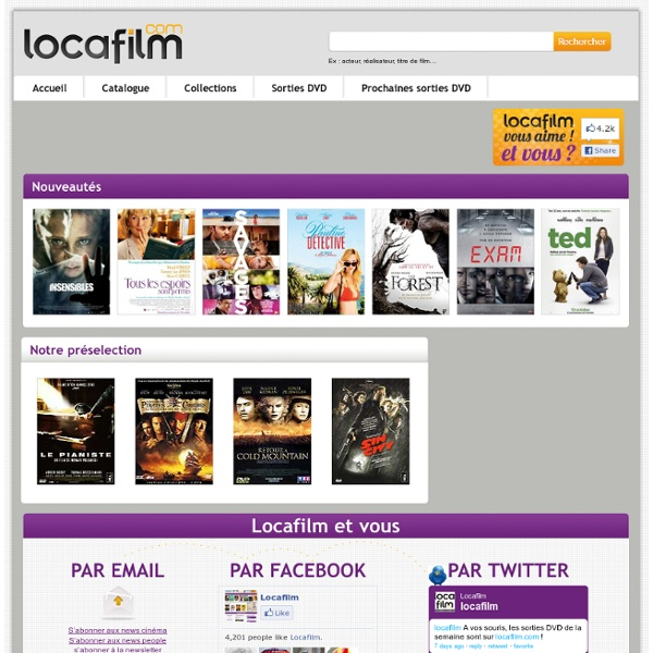 Telechargement de film sur Cinezime