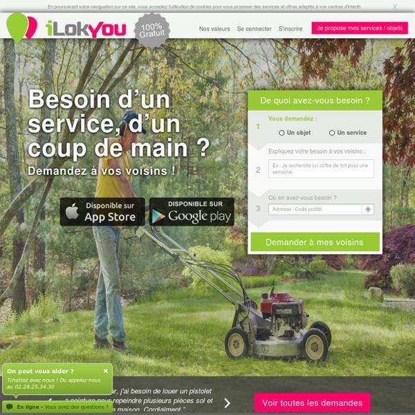 ILokYou - Location, vente et services entre particuliers
