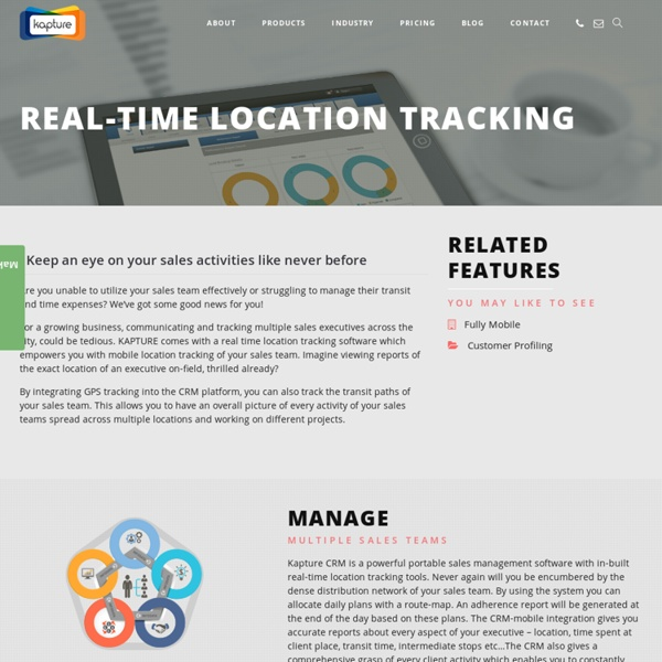 Real time Location Tracking Software