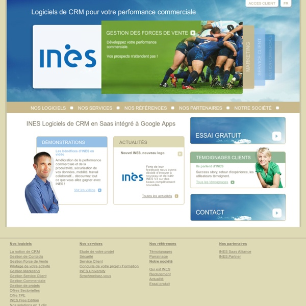 INES - Gestion commerciale et marketing