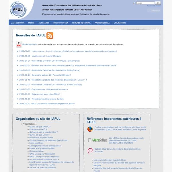 AFUL: Logiciel libre et interoperabilite