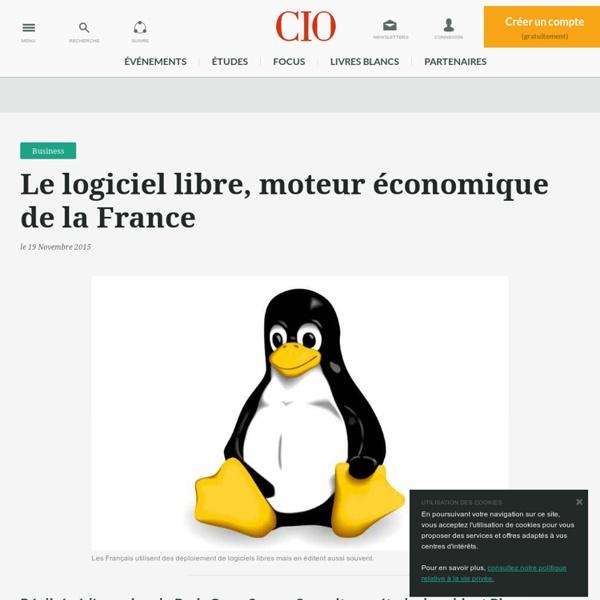 Le logiciel libre, moteur économique de la France