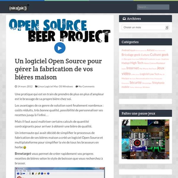 Un logiciel open source pour g rer la fabrication de vos for Logiciel plan maison open source