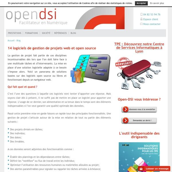 14 logiciels de gestion de projets web et open source