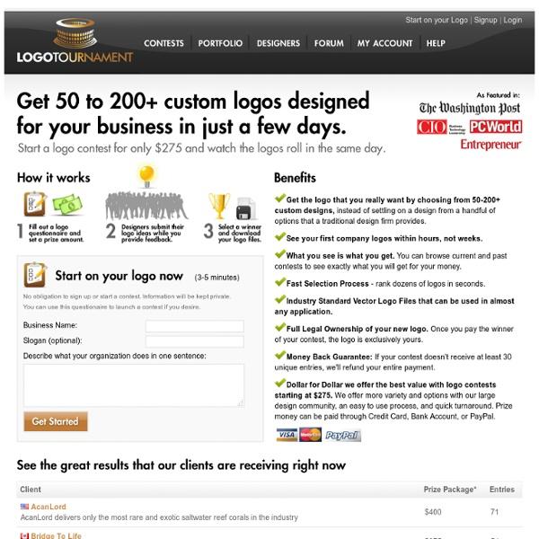 Logo Design by LogoTournament ™