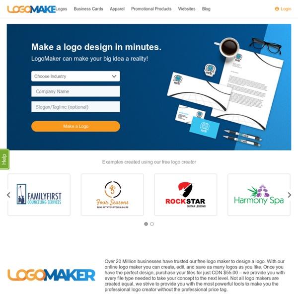 FREE Logo Maker - FREE Logo Creator - FREE Online Logo Design