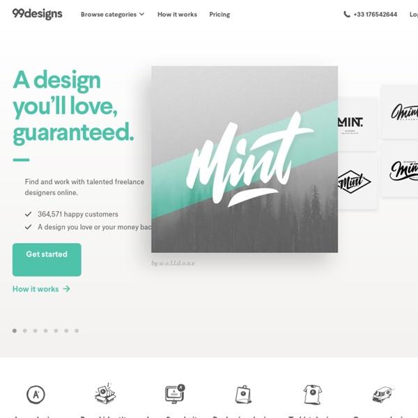 Création de logo, webdesign et bien plus encore.