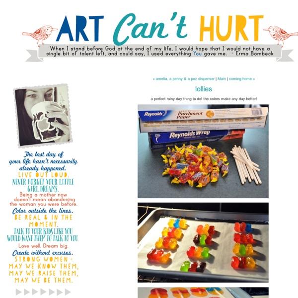Lollies - a little ART CANT HURT