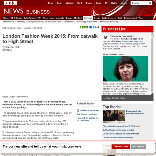 London Fashion Week 2015: From catwalk to High Street