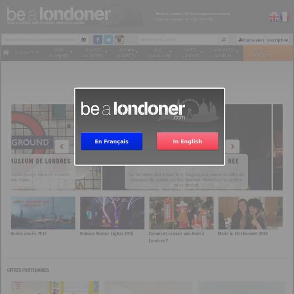 Le site des francophones à Londres