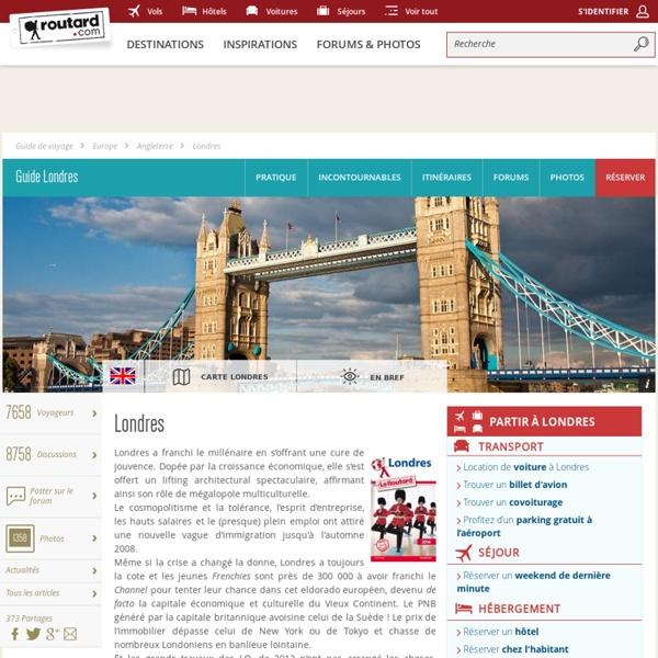 Guide de voyage Londres