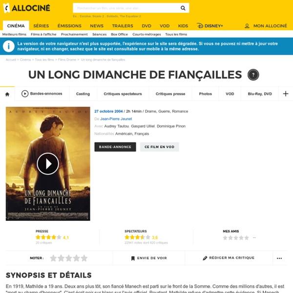 Un Long Dimanche de Fiançailles - Jean-Pierre Jeunet (2004)