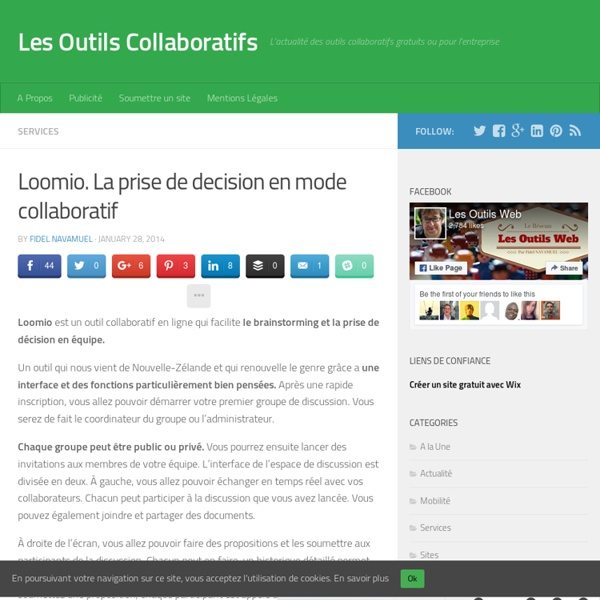 Loomio. La prise de decision en mode collaboratif