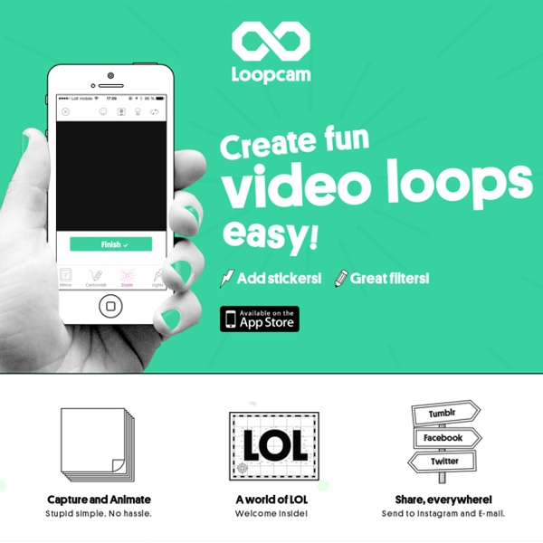 Loopcam — Make video loops super easy. Add amazing filters and stickers – Free for iPhone!