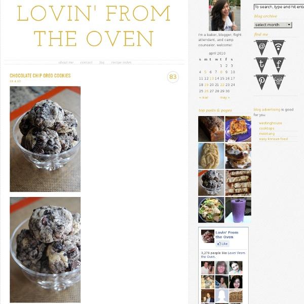 Lovin From the Oven: Chocolate Chip Oreo Cookies - StumbleUpon