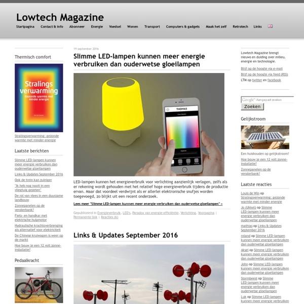 Lowtech Magazine