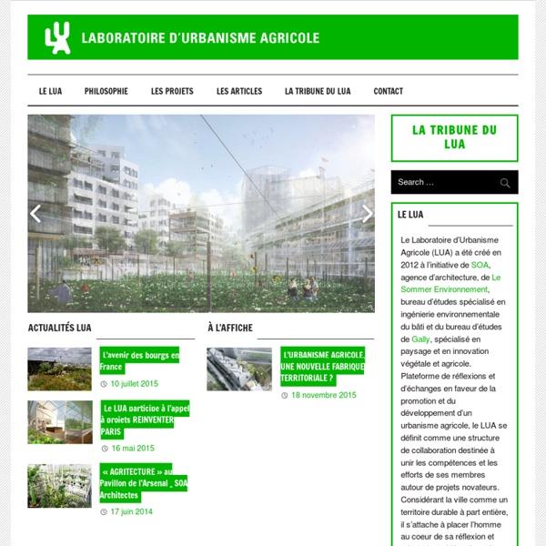 Laboratoire d'Urbanisme Agricole