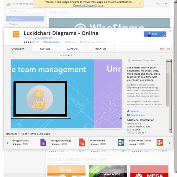 Lucidchart Diagrams - Online