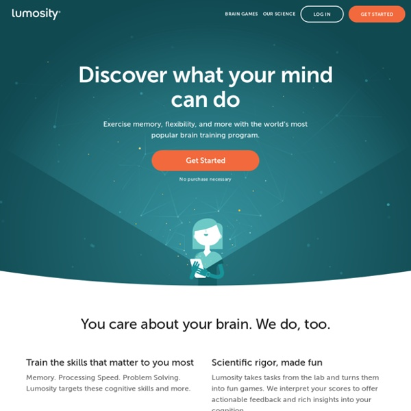 Brain Games & Brain Training
