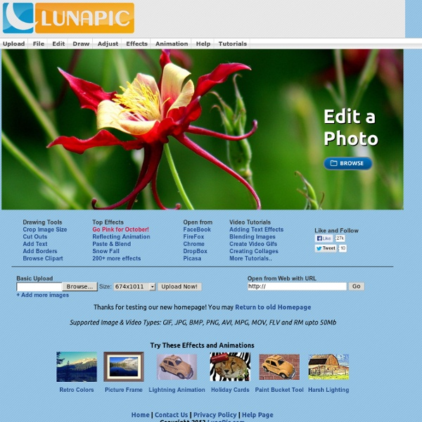 Free Online Photo Editor