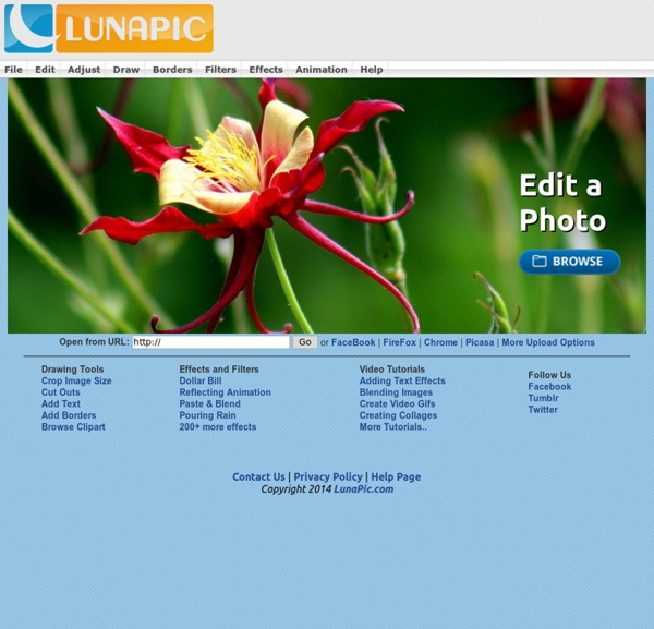 LunaPic : Free Online Photo Editor