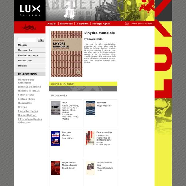 Lux éditeur