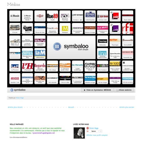 Webmix lycée: Médias