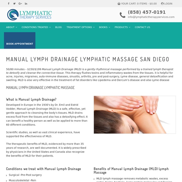 Best Lymphatic Massage Therapy in San Diego