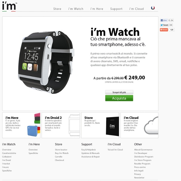 The first real smartwatch in the world