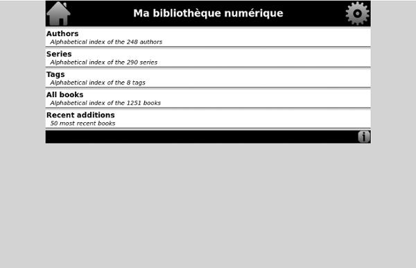 Bibliotheque numerique de Mistermagic93