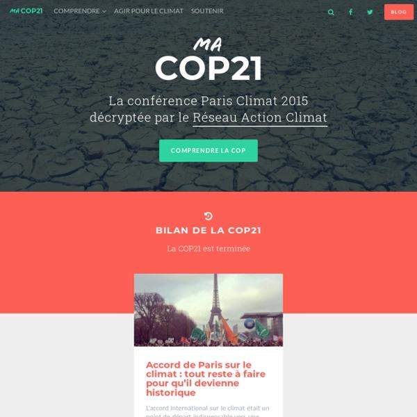 Ma COP21