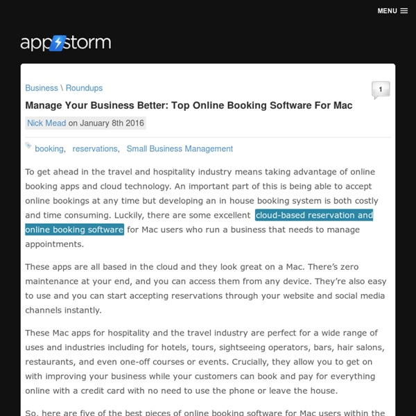 Mac Software Reviews, Roundups & How-Tos