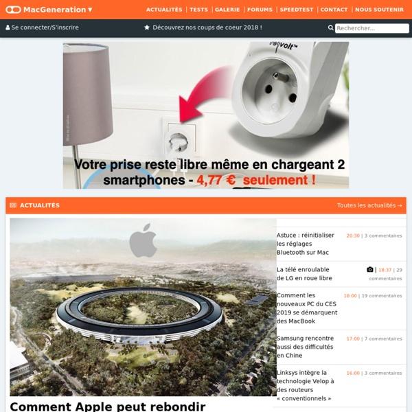 MacGeneration - L'actu Mac et Apple