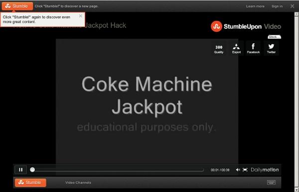 How To Coke Machine Jackpot Hack - a News &Politics video