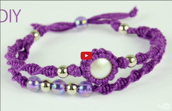 Macrame Double Bracelet - Tutorial