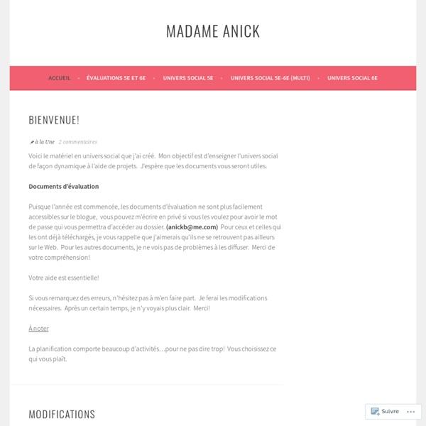 Madame Anick