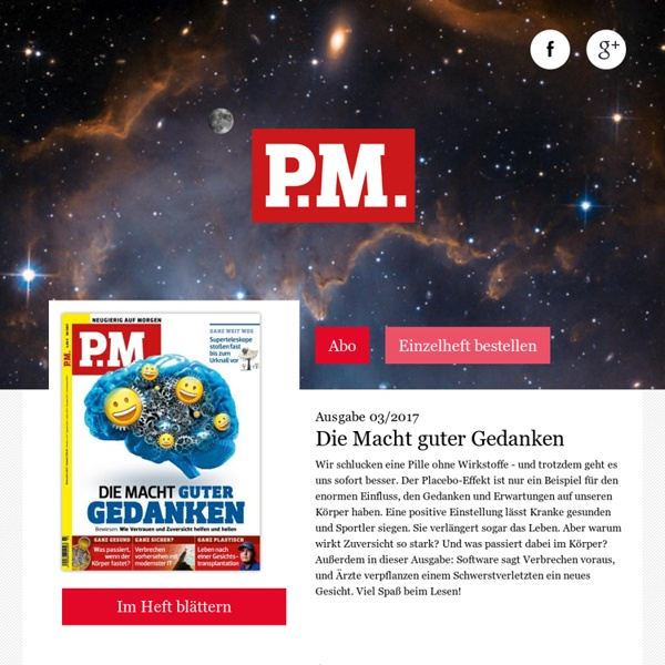 PM - popular science magazine