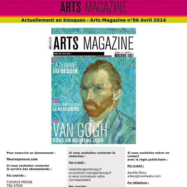 Arts Magazine, le guide des meilleures expositions, événements et manifestations culturelles