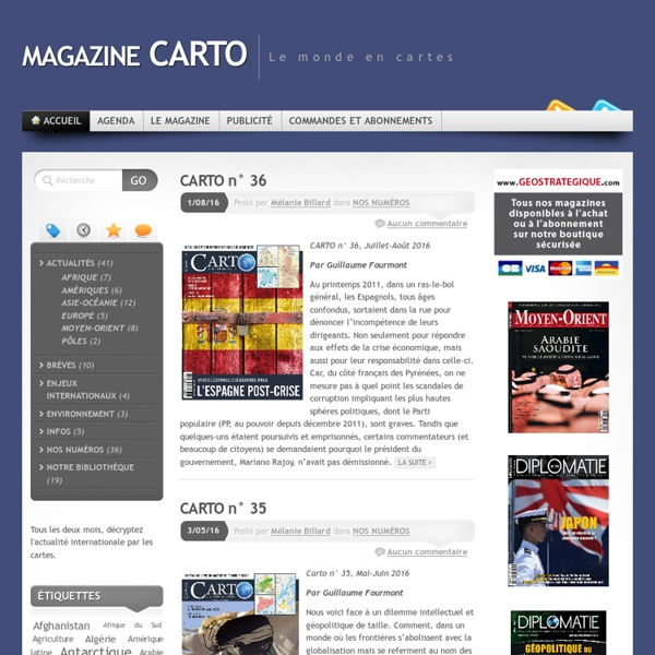 CARTO magazine