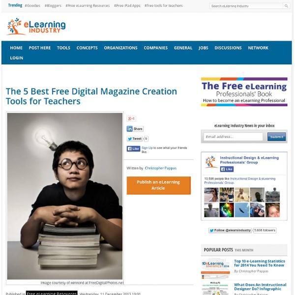 The 5 Best Free Digital Magazine Creation Tools for Teachers