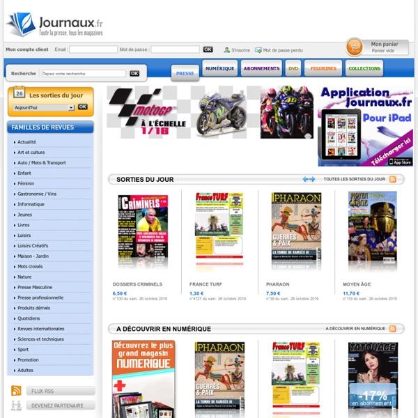 Journaux.fr - Votre maison de presse en ligne