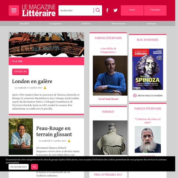 Magazine-litteraire.com