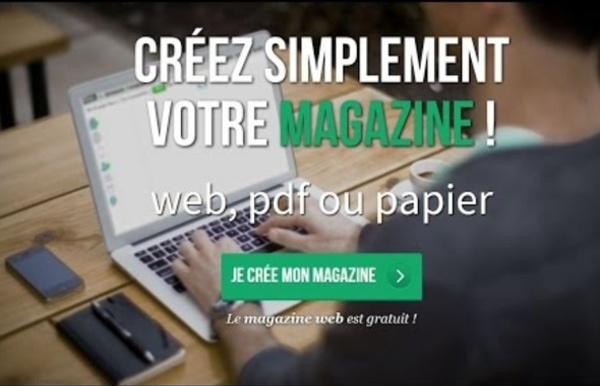 Créer un magazine avec Madmagz - Nouveau 2015