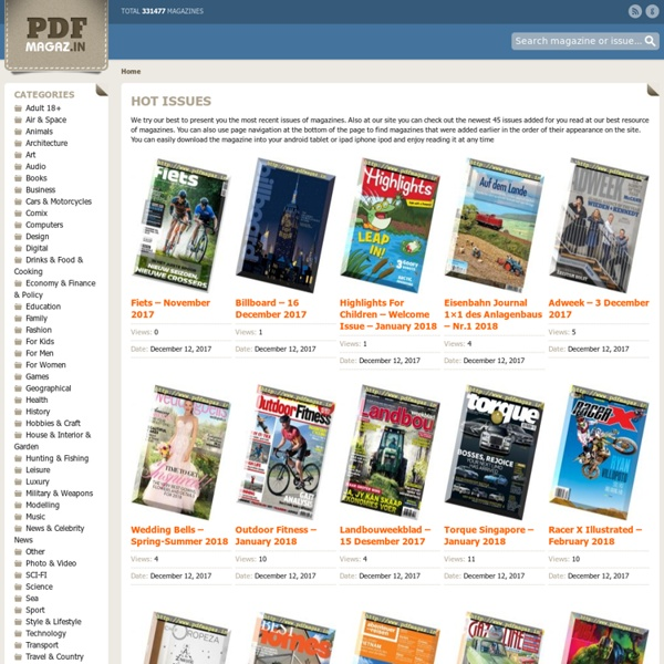Magazine sites pdf best