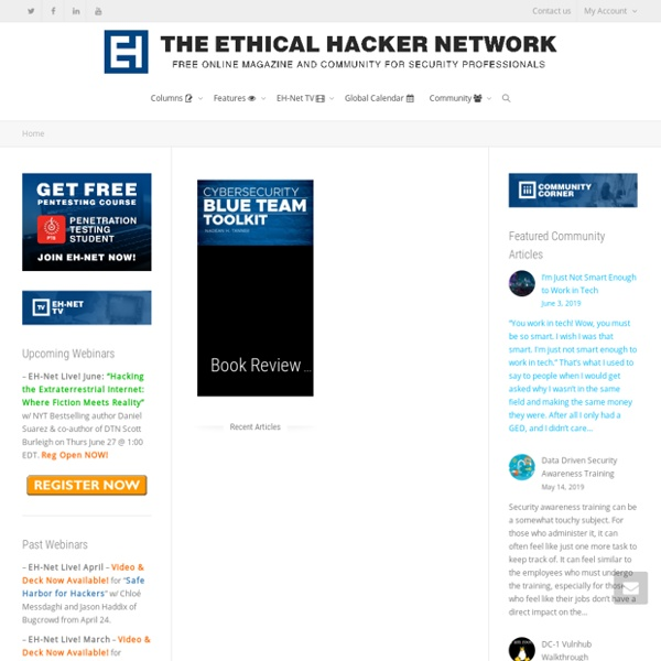 The Ethical Hacker Network