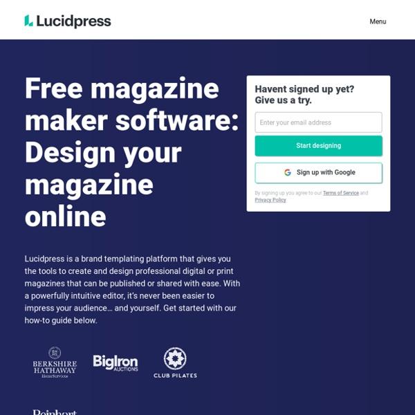 Free Digital Magazine Software