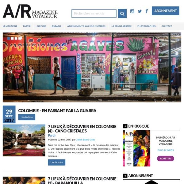 A/R magazine, un regard libre sur le voyage